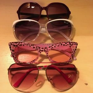 Pink Sunglasses Bundle